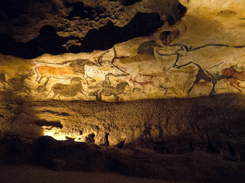 98 Sketch Wallpapers Wallpaper Cave Sketches Wallpapers: Pre-Historic Cave Paintings At Lascaux In The